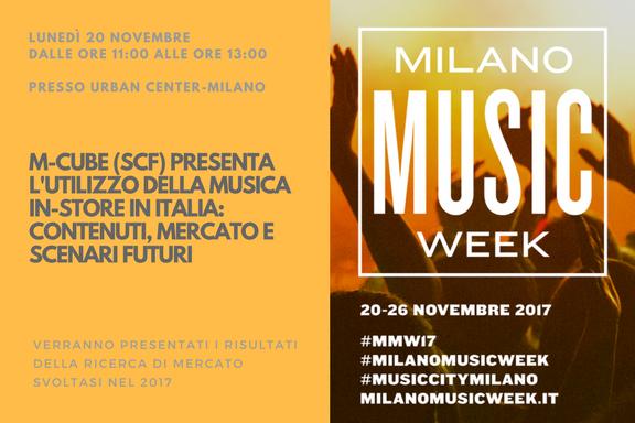 L'utilizzo della musica in-store in Italia: contenuti, mercato e scenari futuri